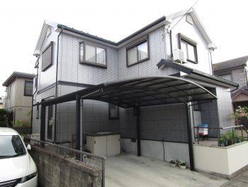 デザインサイディングのお家
