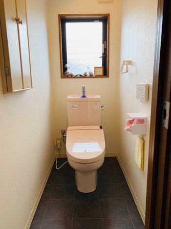 落ち着きのあるおトイレ